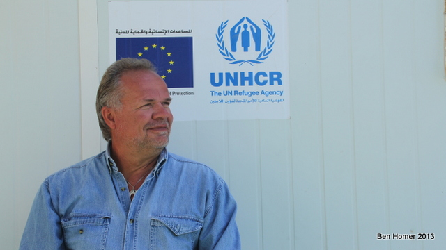 Kilian Kleinschmidt has decades of experience managing the largest refugee camps in the world. When was brought in to oversee Za'atari protests were occurring nearly every night by refugees unhappy with conditions. Today he is working to establish a stronger relationship between the aid workers and camp residents. Za'atari he says, is one of the most complex places he has ever worked.