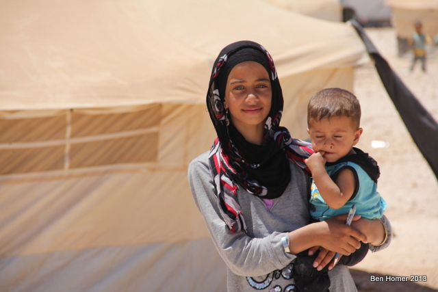 Seventy percent of refugees in Za'atari are women and children. Many of the men who are there have spent time fighting in Syria or plan to once they have assured of the safety of their family members.